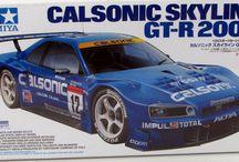 Race Car Model Kits / A selection of the coolest race car model kits.