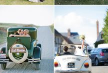 Wedding Transport! / All the inspiration you need to get from A to B on your dream day.