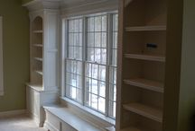 Bookshelves & built-ins / by Taryn Meek