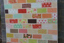 Wedding Quilt... Brick Wall