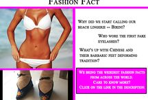 Fashion Facts / The wackiest and craziest fashion from across the world is here to stop you dead in tracks. Stay tuned for some fun fashion facts.http://bit.ly/1k9mltv