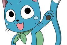 Happy The Cat of Fairy Tail