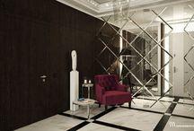 Dom Wilanów 2 / W aranżacji wnętrza dominuje uwspółcześniony klasycyzm, odzwierciedlający zamiłowanie właścicieli do elegancji i porządku. www.bartekwlodarczyk.com