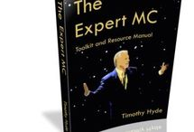 Expert MC - Resources / Recommended Books, Videos & Training to help you learn the art of the MC and to help grow your Emcee Business. Wedding & Corporate