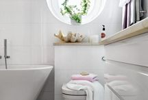 Small and very elegant bathrooms