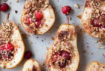 Sobremesas com frutas