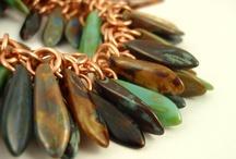 Beads & jewelery / Beads, stone, gold, brass, copper, pearl, etc