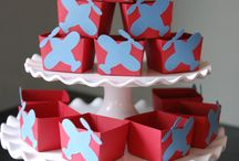 Airplane Birthday Party / Coolest Airplane Birthday Party inspiration! • Products: http://www.partyprintables.com.au