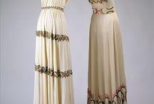 suknie wieczorowe 30s i 40s