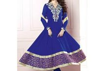 Partywear Salwar Kameez / A Partywear Salwar Kameez collection with FREE shipping and FREE stitching offer.