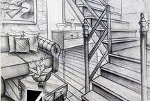 mimar çizimleri
