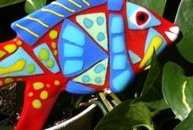 szkiełka / witraże, mozaiki szklane