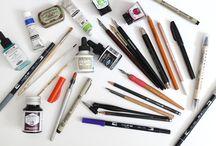 Lettering, Kalligraphie & Gestaltung: Tipps, Tools & Tutorials