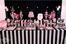 Pink & Black party  sweet 16