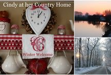 Winter by Cindy at her Country Home