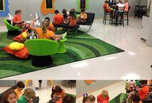 Modern Learning Enviromenta / MLE Spaces, ideas and pedagogy