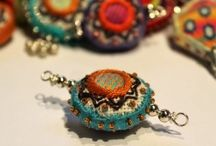 Hand crafted beads
