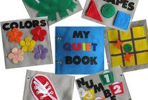 Quiet educational books