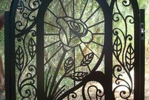 ! ! ! ! Doors & Portals Gates & Beautiful Ironwork / All kinds of gates and some beautiful ironwork on doors, balconies, & windows.  More may be scattered on other boards, especially more ironwork on the Doors & Portals - Art Nouveau & Art Deco. / by HappyDaze11