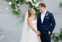 Eliza & Noha's Farm Wedding / Wedding Coordination: Amy Abbott Events | Location: Flora Farms | Photography: Sara Richardson | Flowers: Pina Hernandez | Hair and Make-up: Blanc Bridal Salon