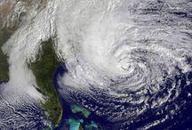 Hurricane Sandy / Hurricane Sandy - A violent storm that shock the east coast.