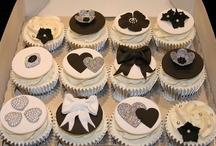 Cupcakes - black & white