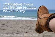 Blog Inspiration  / Inspiring tidbits to keep me writing