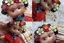 Tildas and dolls / Bonecas e bichinhos