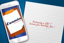 Examia-Social / Updating news , promotions , ads , features etc of examia apps