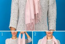 draping scarves
