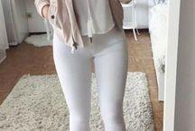 white jeans✌