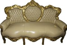 Barock & Antik Stil Sofas / Ein Barock Stil Sofa aus der Kollektion von Casa Padrino wird das neue Highlight Ihrer Einrichtung!