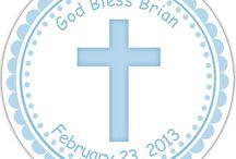 Baptism Christening Design Portfolio
