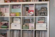Scrap Room Organziation