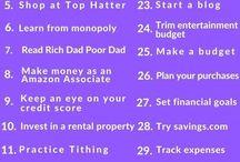 Improving finances