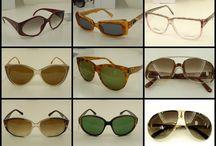 Occhiali Vintage  / Linee tonde, squadrate, rettangolari e gocce...il gusto e la moda anni '80, per tutti gli amanti del vintage