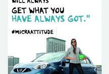 Micra Attitude / Teemana Uskaliaat määränpäät