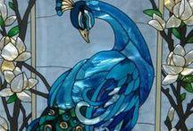Glassmalerier / vindu