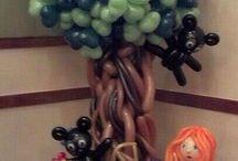 arboles globos