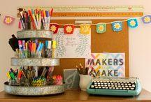 Home decor inspiration - craft room