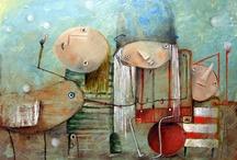 MonicaBlatton art / by Kathy Woody