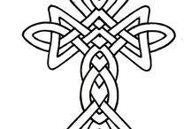 Celtic figures
