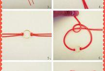 lære å lage armbånd å div