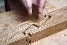 Encaixe na madeira