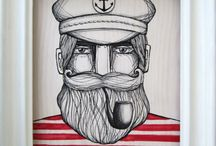 illustrations / by kevin crace