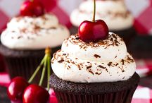 Cakes, cupcakes, pies, bread, and frosting recipes