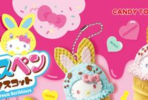 HELLO KITTY「カラフルバニー アイスペンマスコット」 / http://www.re-ment.co.jp/products/sanrio_icepen/index.html