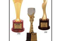 Wooden & Metal Trophy