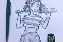 Drawing not manga