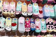 ! Cute socks !